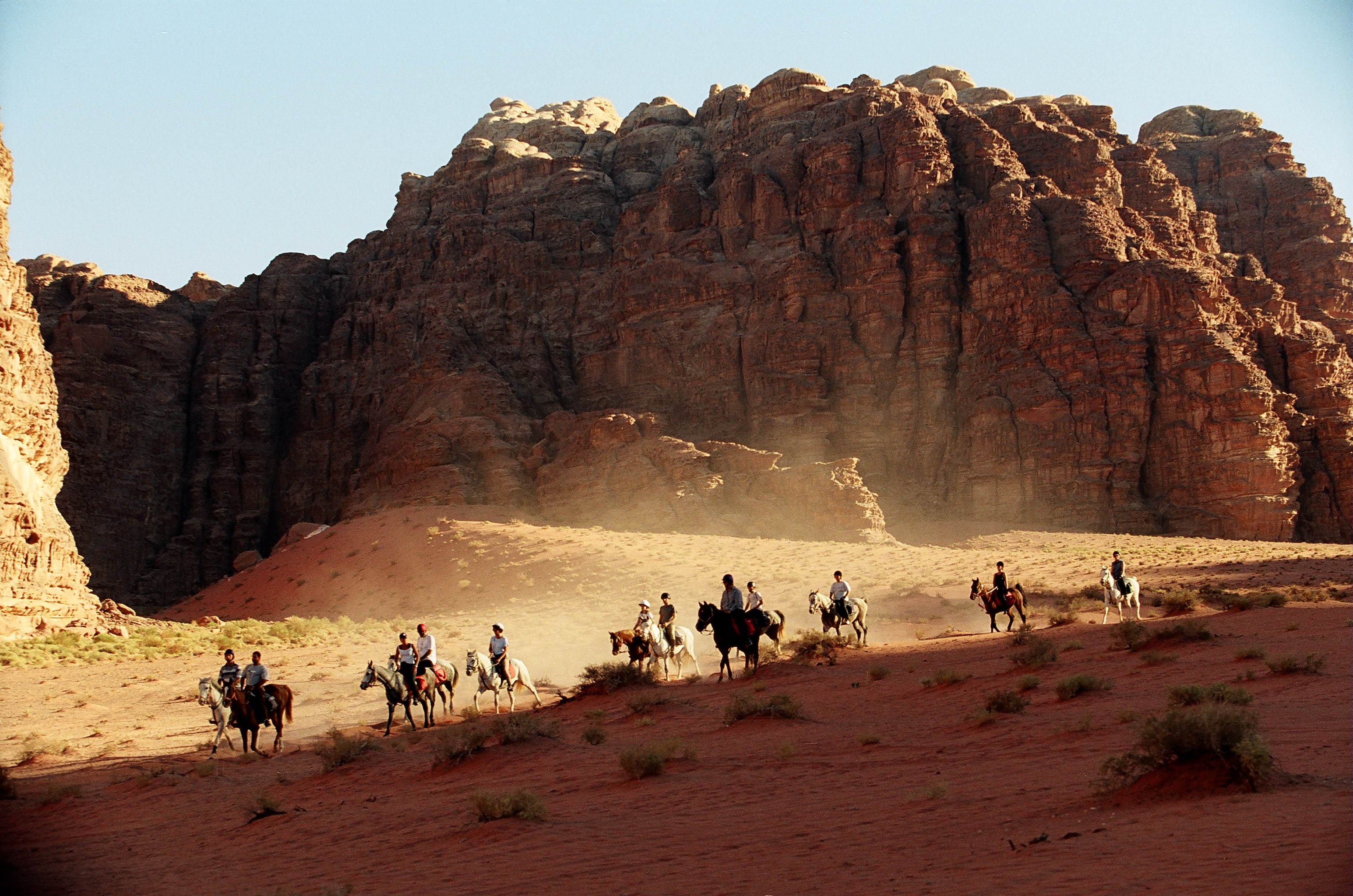 Horseback Riding in Wadi Rum